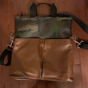 Coach Tote Messenger Bag